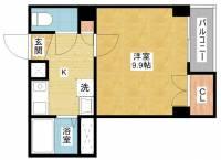 Asin Sakae(エイシンサカエ)[3階]の間取り