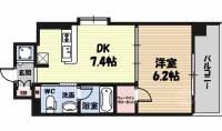 セイワパレス大阪城北[3階]の間取り