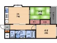 3-Mハウス[5階]の間取り