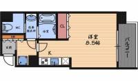 ファーストステージ福島パークサイド[5階]の間取り