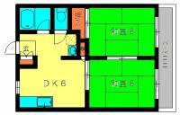ライトハウス8[1階]の間取り
