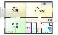 ハイツアメニティ[2階]の間取り
