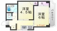 シルフィードARATA[4階]の間取り