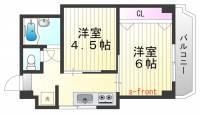 シルフィードARATA[5階]の間取り