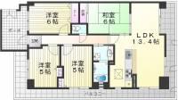 グレーシィ須磨壱番館[2階]の間取り
