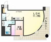 インペリアル新神戸[7階]の間取り