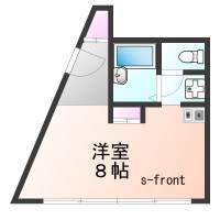 生田電設会館マンション[2階]の間取り