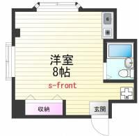 須磨ハイツ[3階]の間取り