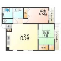 ときわ新神戸レクラン[4階]の間取り
