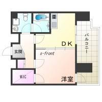 デルファーレ神戸三宮[9階]の間取り