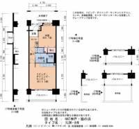 HAT神戸・脇の浜[3階]の間取り