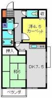 第2八千代ビル[104号室]の間取り