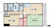 マンション妙法寺[1階]の間取り