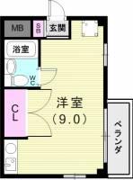 テイク伊川谷[2階]の間取り