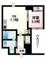 ライブガーデン新大阪[8階]の間取り