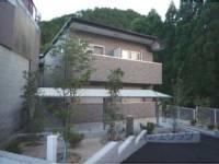 京都府京都市右京区鳴滝松本町の賃貸アパートの外観