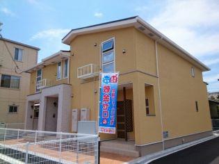 兵庫県姫路市新在家2丁目の賃貸アパートの外観