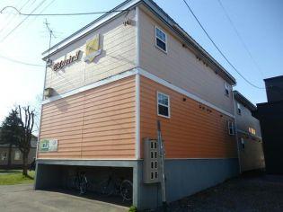 北海道帯広市西六条南30丁目の賃貸アパートの外観