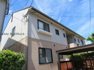 長崎県大村市池田2丁目の賃貸アパートの外観