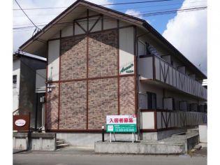 山形県山形市あけぼの1丁目の賃貸アパートの外観