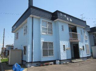 北海道岩見沢市南町二条2丁目の賃貸アパートの外観