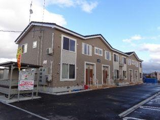 北海道岩見沢市東町二条1丁目の賃貸アパートの外観
