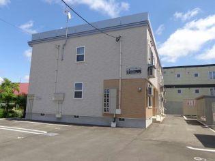 北海道岩見沢市一条東8丁目の賃貸アパートの外観