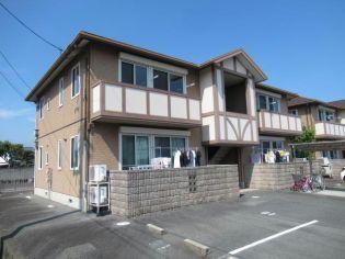 山口県防府市開出本町の賃貸アパートの外観