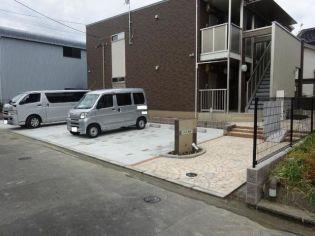 三重県桑名市大字地蔵190-1の賃貸アパートの外観