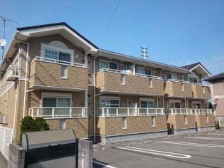 兵庫県 姫路市 飾磨区阿成鹿古の賃貸アパートの外観