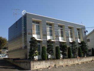 レオパレス下新倉B[204号室]の外観