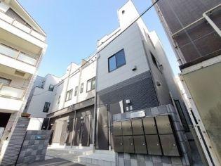 東京都新宿区新小川町の賃貸アパートの外観
