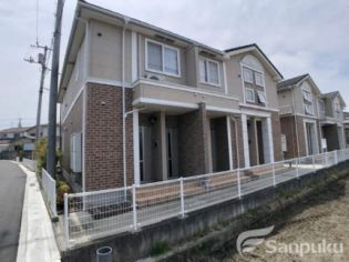 愛媛県松山市古三津3丁目の賃貸アパートの外観