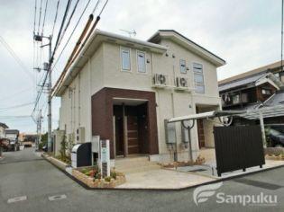 愛媛県松山市中村5丁目の賃貸アパートの外観