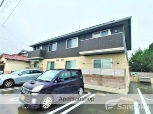 愛媛県松山市北斎院町の賃貸アパートの外観