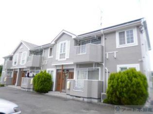 愛媛県松山市山越1丁目の賃貸アパートの外観
