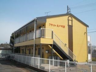 フラット矢戸川B[101号室]の外観