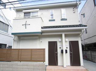 東京都新宿区北新宿4丁目の賃貸アパートの外観