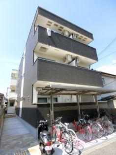 大阪府大阪市東住吉区中野4丁目の賃貸アパートの外観