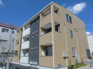 大阪府大阪市東住吉区今林2丁目の賃貸アパートの外観