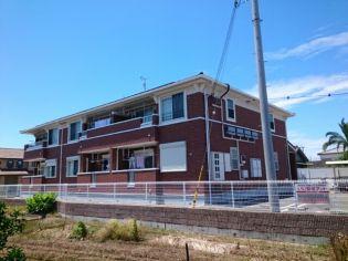 大阪府泉南郡田尻町吉見の賃貸アパートの外観