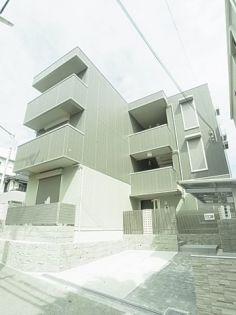兵庫県神戸市中央区旗塚通2丁目の賃貸マンションの外観