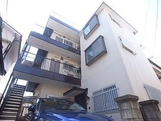 下川マンション[302号室]の外観