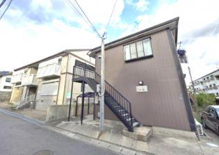 兵庫県神戸市東灘区御影3丁目の賃貸アパートの外観