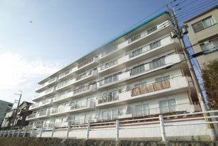 仁川グランドハイツ[4階]の外観