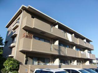 兵庫県西宮市愛宕山の賃貸マンションの外観