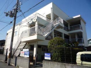 マンション田井城[203号室]の外観