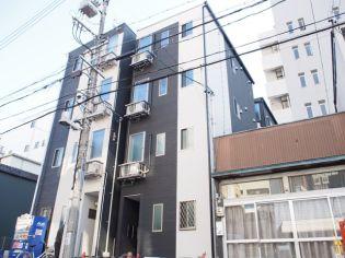 愛知県名古屋市中村区名駅南3丁目の賃貸アパートの外観