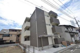 兵庫県尼崎市西立花町1丁目の賃貸アパートの外観