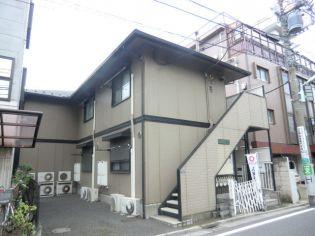東京都新宿区下落合3丁目の賃貸アパートの外観